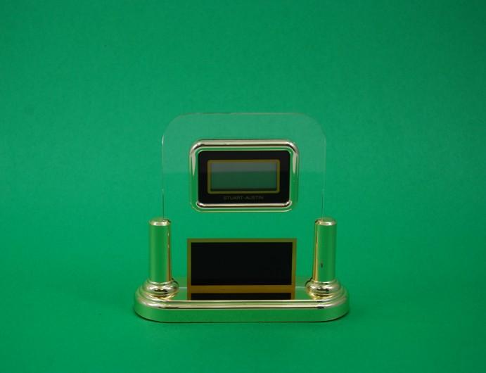Acrylic LCD Clock