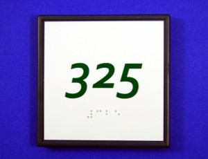 ADA Braille Number Sign